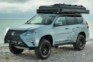 Lexus GX підготували до подорожей по важкому бездоріжжю