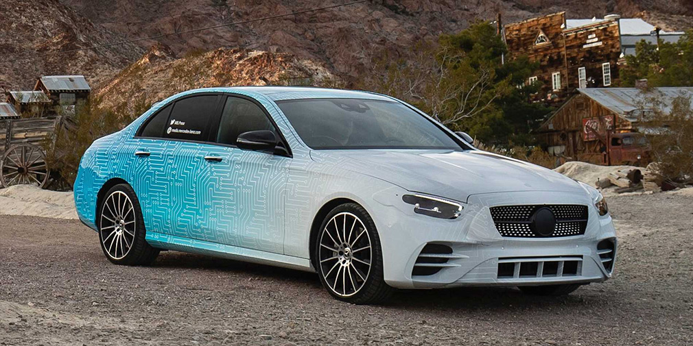 Mercedes анонсував оновлений E-Class