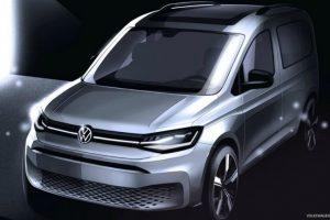 Volkswagen показав зовнішність нового Caddy