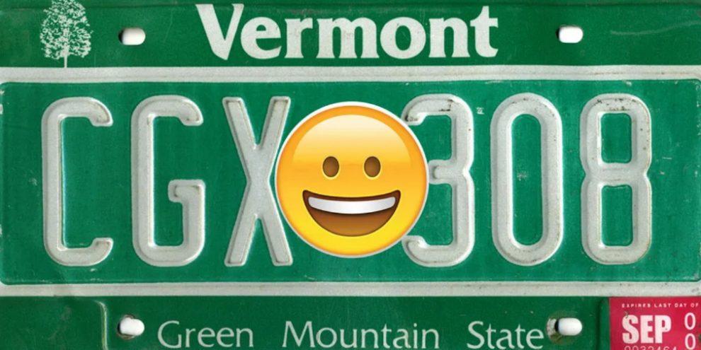 У США дозволять автомобільні номери з емодзі