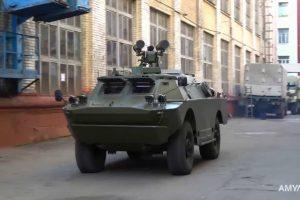 Укроборонпром представив нову броньовану машину з ракетним бойовим модулем