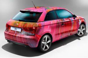Комплексне та локальне фарбування авто