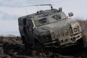 Новий бронеавтомобіль з новітньою ПТРК «Амулет» помічені у ЗСУ