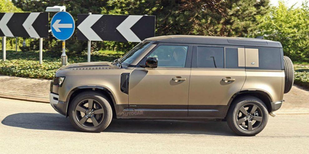 Land Rover почав випробування нового Defender з 500-потужним мотором