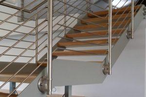 Металлические каркасы лестниц