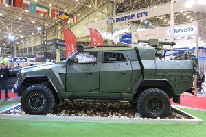 Український бронеавтомобіль «Новатор» отримав новий бойовий модуль