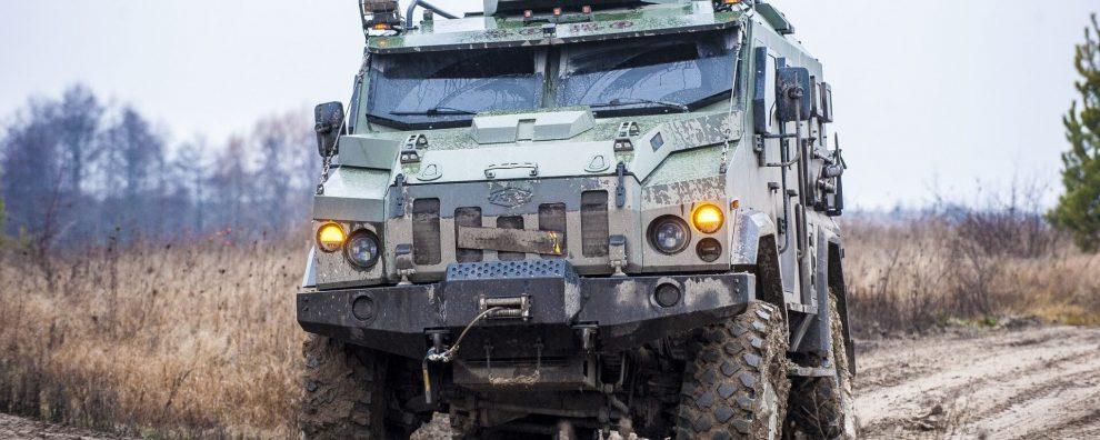 В Україні розробляють революційний бронеавтомобіль