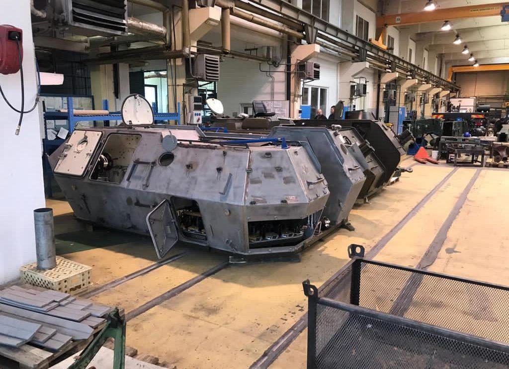 У Чехії вже виготовляють САУ Dana-M2 для України