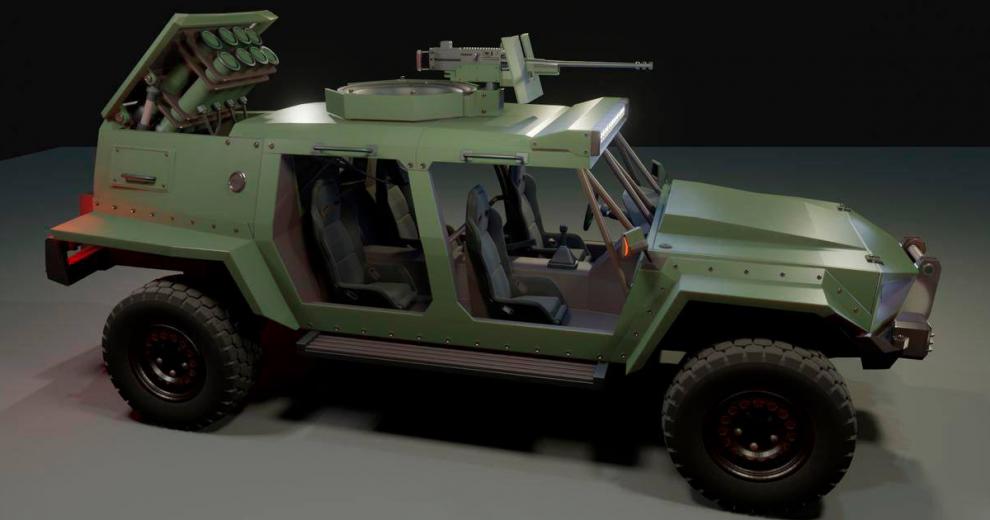 Для ЗСУ створюють нову бойову машину
