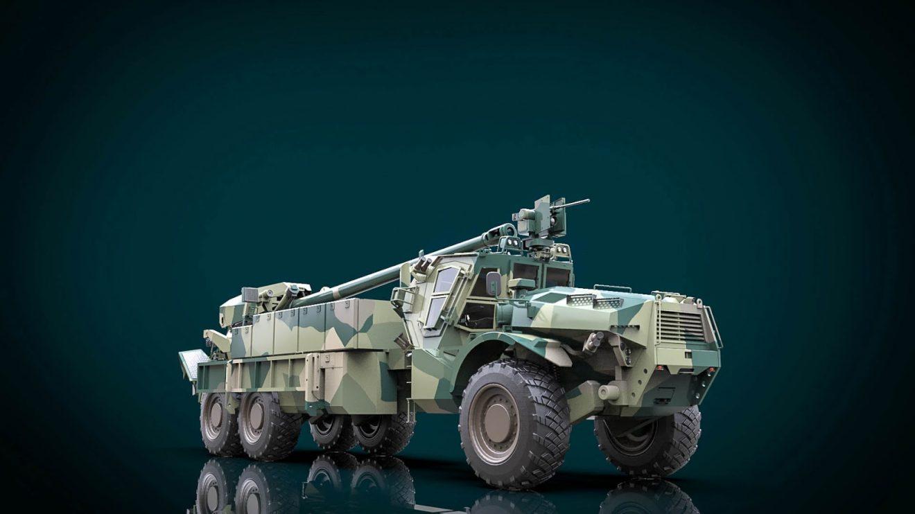 Представлено концепт українського універсального військового транспортного засобу