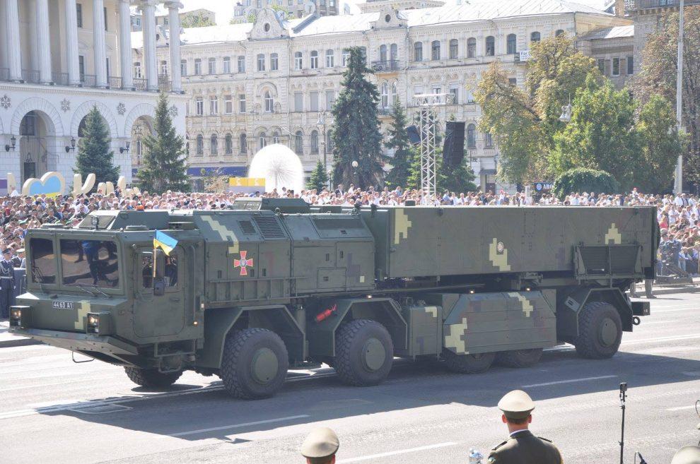 Міноборони цього року придбає дивізіон ОТРК «Сапсан» на новому шасі