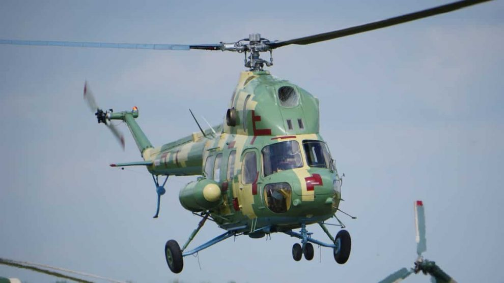 ЗСУ отримали перший Мі-2МСБ