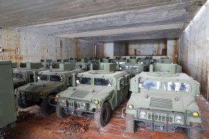 Зі США до України прибула партія HMMWV