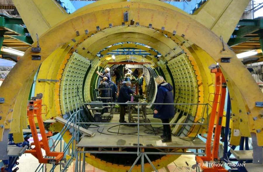"""Перший Ан-178 для ЗСУ: на ДП """"Антонов"""" приступили до стапельного складання фюзеляжу (фото)"""