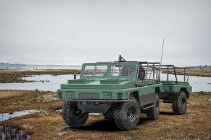 Концепт легкого плаваючого тактичного автомобіля для ССО ЗСУ