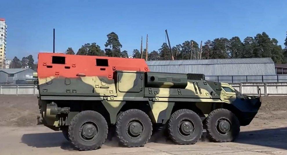 КБТЗ розпочав випробування нової КШМ на базі БТР-4 (відео)