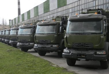 Збройні Сили України отримали нові автомобілі від відомого європейського виробника