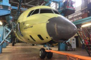 Відбулась викатка першого фюзеляжу Ан-178-100П для Повітряних сил України