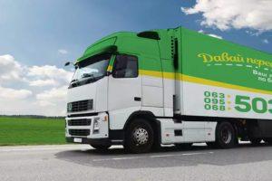 Система габаритно-весового контроля за перегрузом грузовых автомобилей