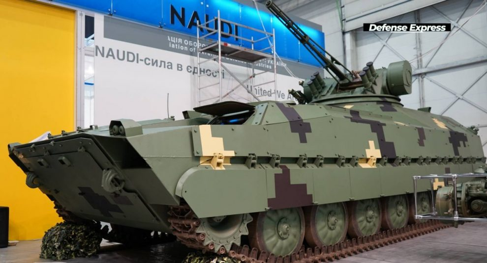 """""""Укріншмаш"""" демонструє БМП """"Кевлар-Е"""" на виставці """"Зброя та Безпека-2021"""""""
