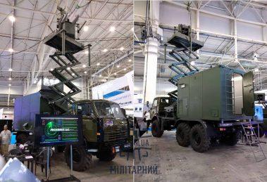 На «Зброя та безпека» презентували станцію перешкод «Прометей-МФ5»