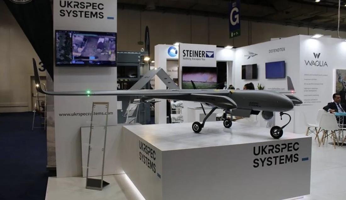 Український БПЛА PD-2 із вертикальним зльотом і посадкою представили на виставці в Греції