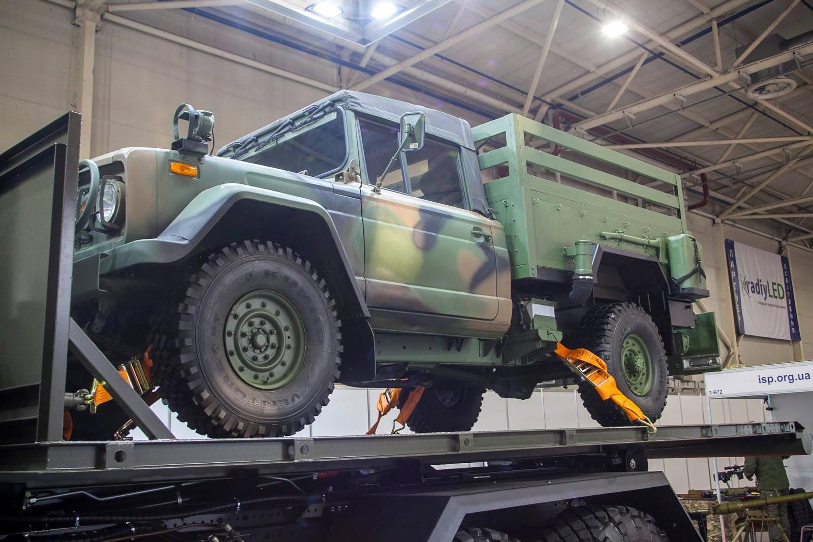 Армія отримає нові командно-штабні машини на базі позашляховика Kia